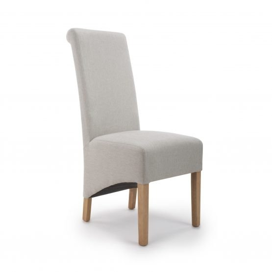 Krista Herringbone Cappuccino dining chair