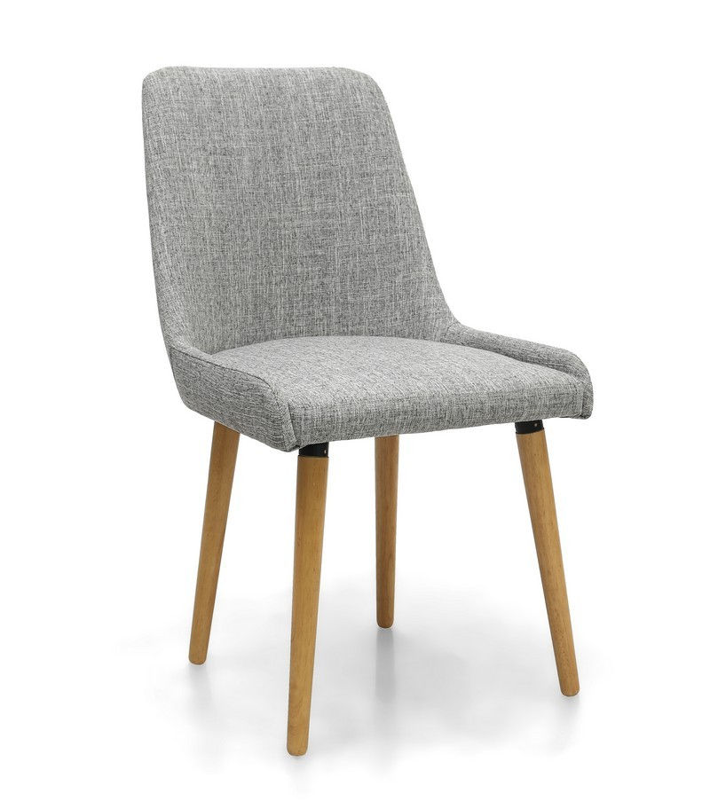 capri grey weave fabric modern dining chair. Black Bedroom Furniture Sets. Home Design Ideas
