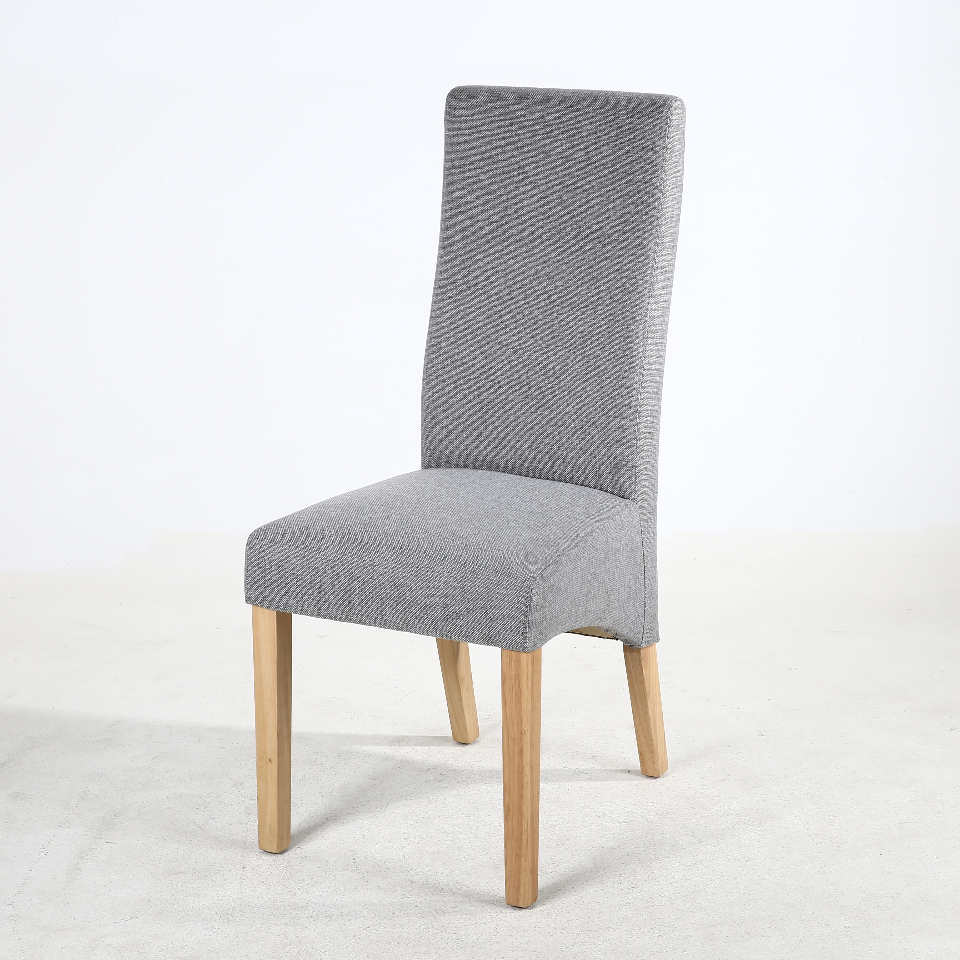 Magnificent Buxton Silver Grey Fabric Dining Chair Pdpeps Interior Chair Design Pdpepsorg