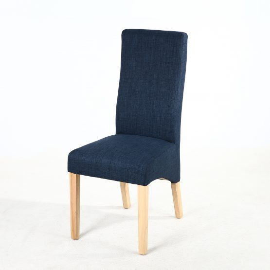 Buxton Royal Blue Fabric Dining chair