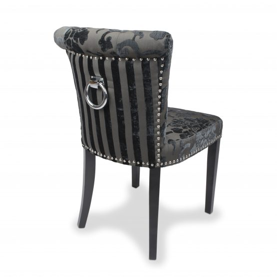 Sandringham Baroque charcoal dining chair