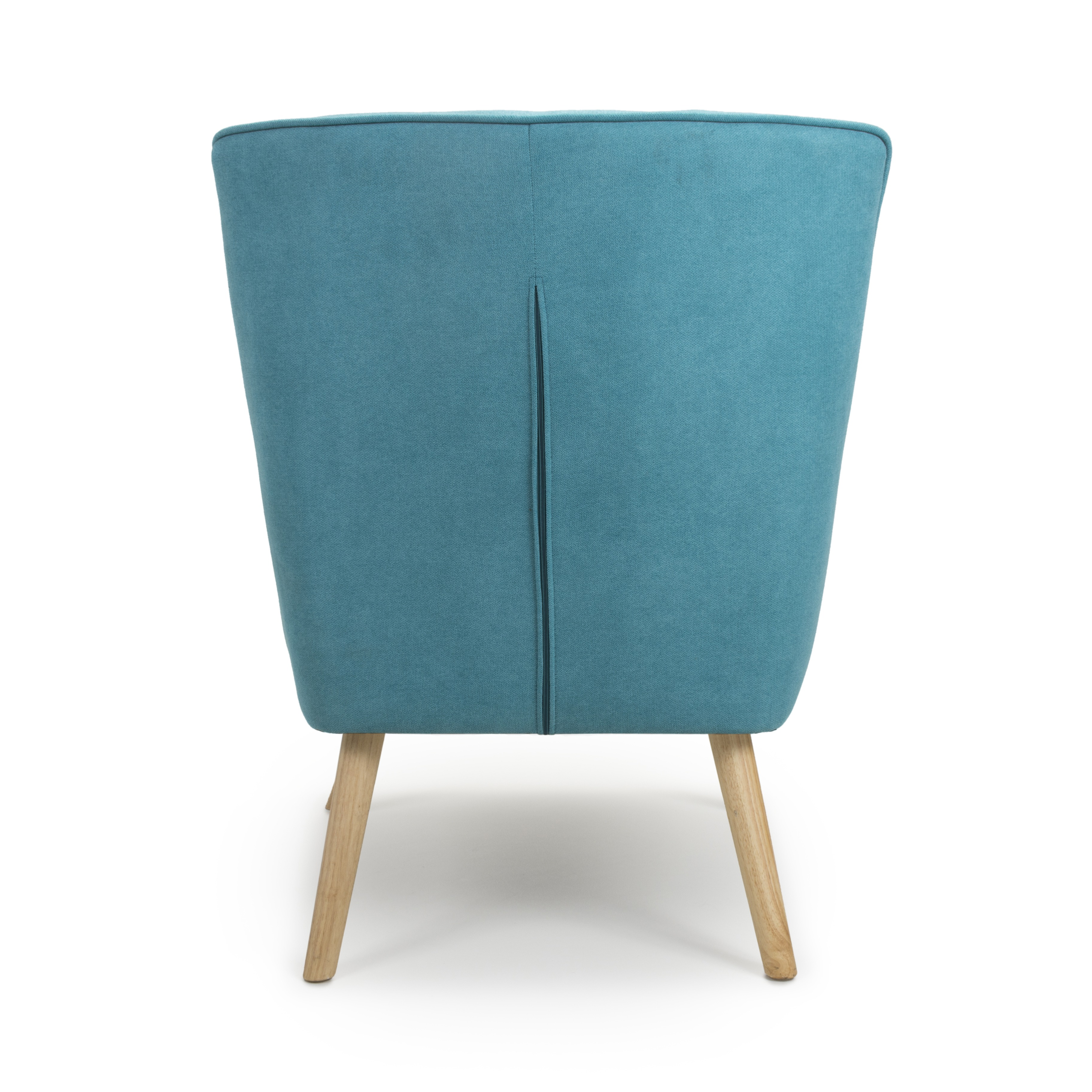 Edwin Turquoise Linen Lounge Arm Chair | Armchair