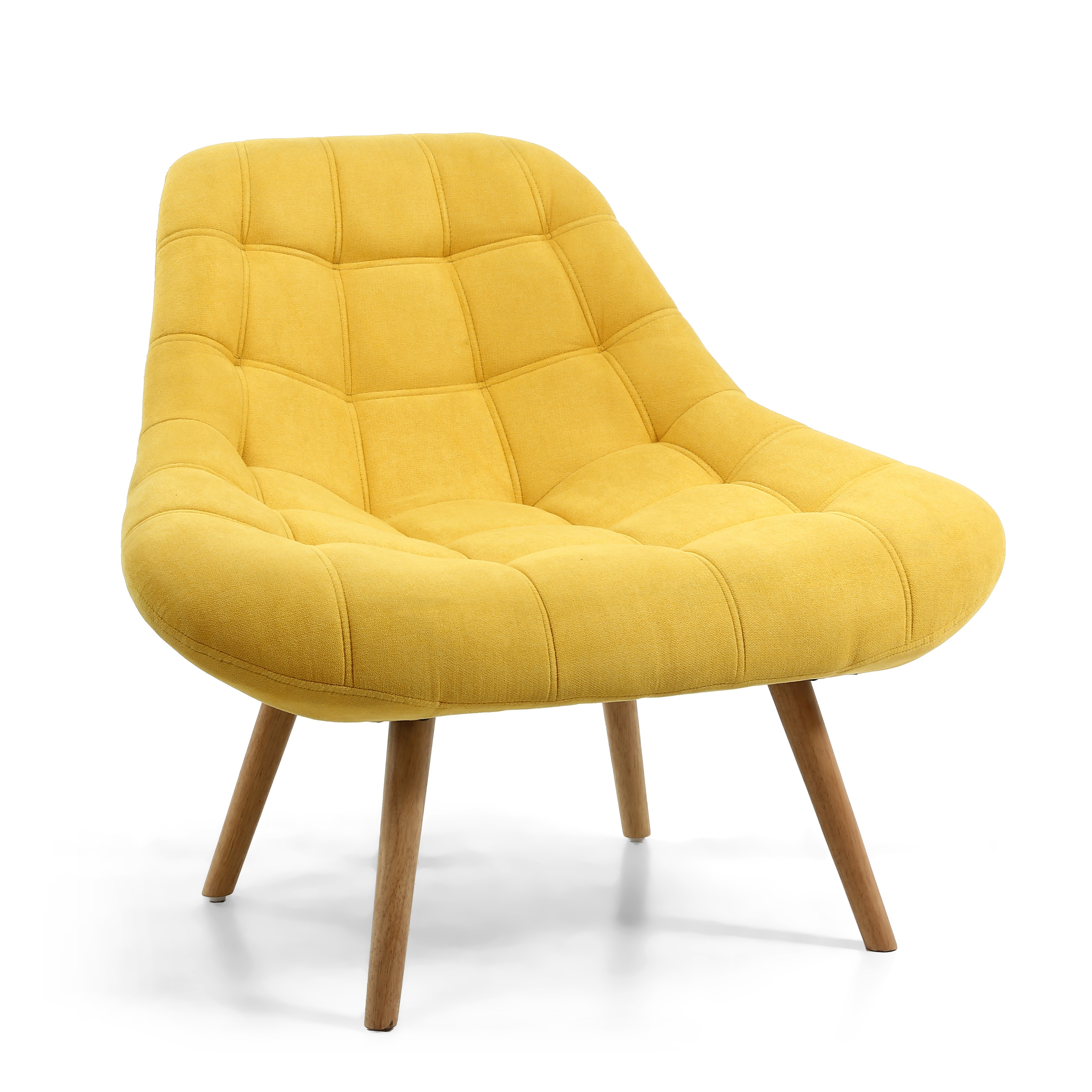 Alison Yellow retro armchair
