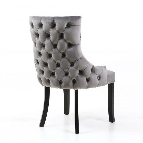 Winslow Grey Velvet Dining chair