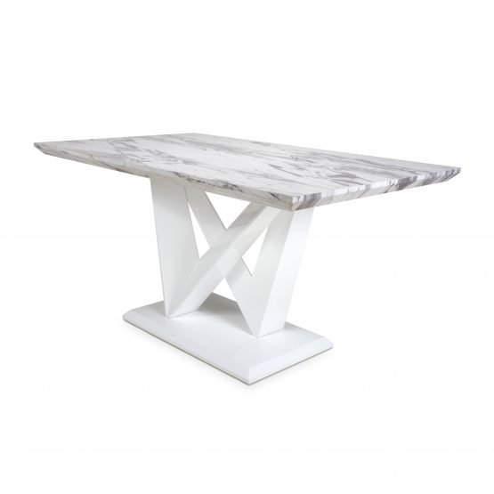 Saturn Marble Top Medium dining table