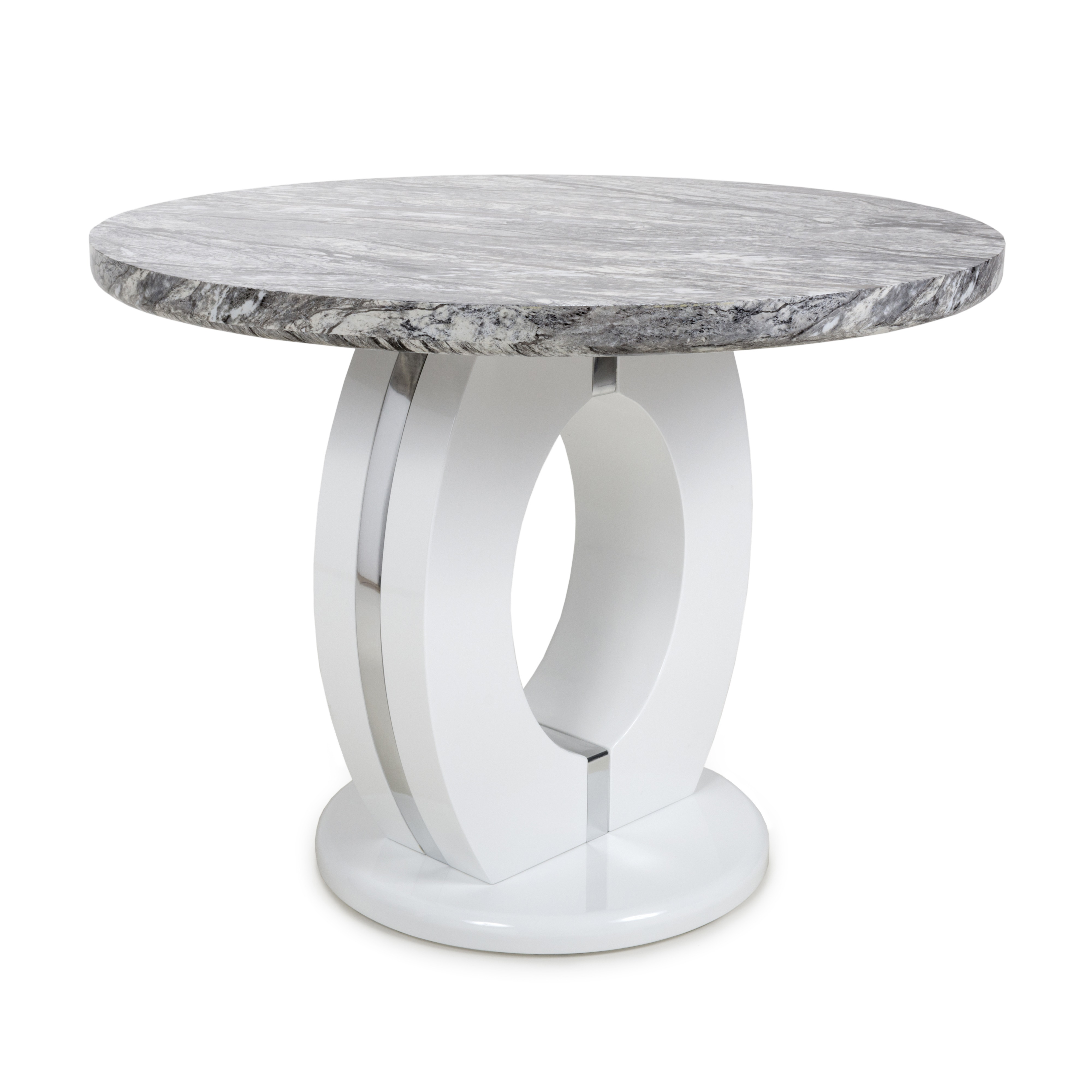 Athena Round Marble Dining table
