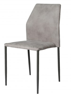 Milo Grey Marl Modern Stacking Chair