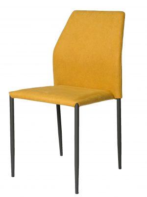Milo Lemon Yellow Modern Stacking Chair