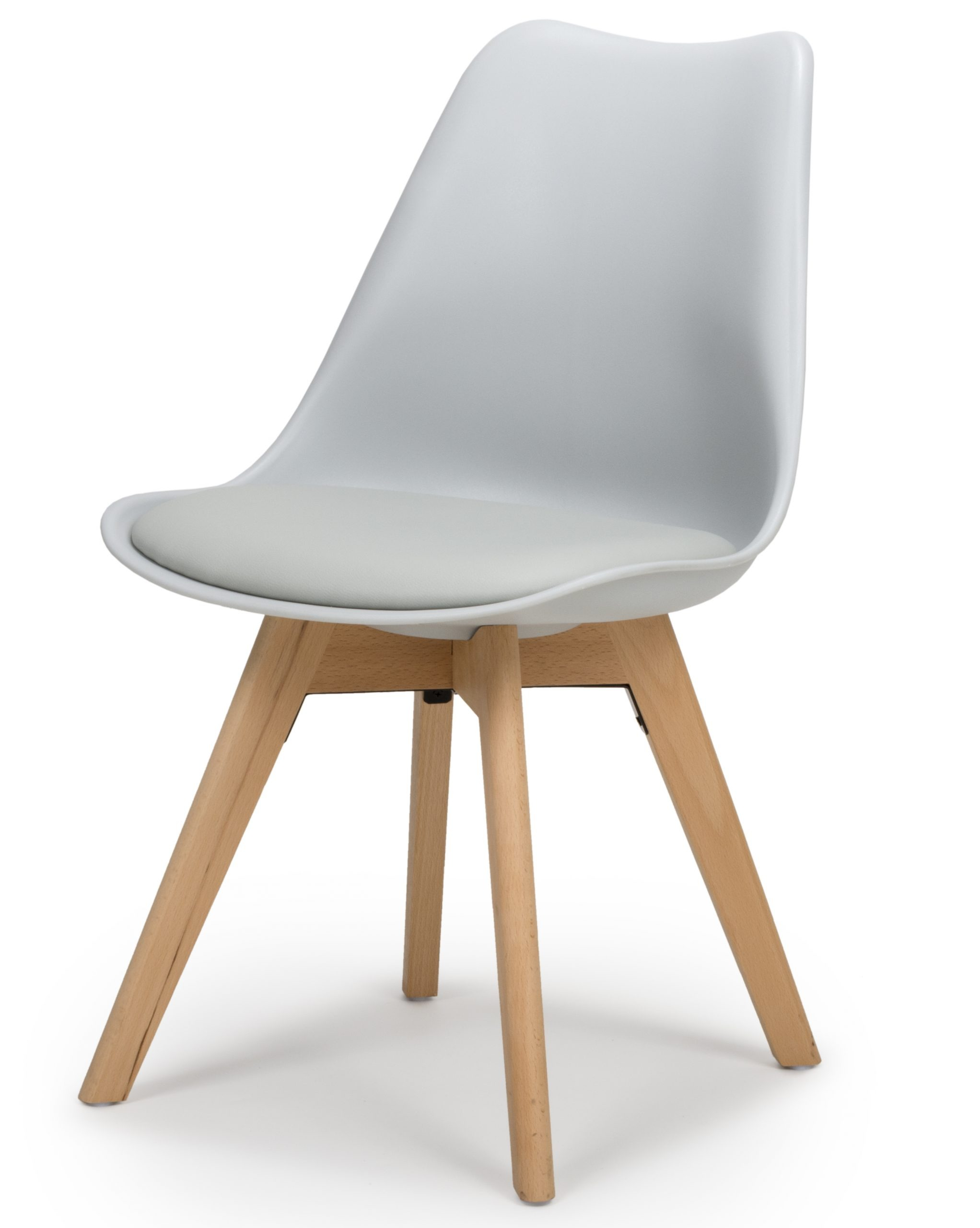 Urban Grey Molded plastic dining chair