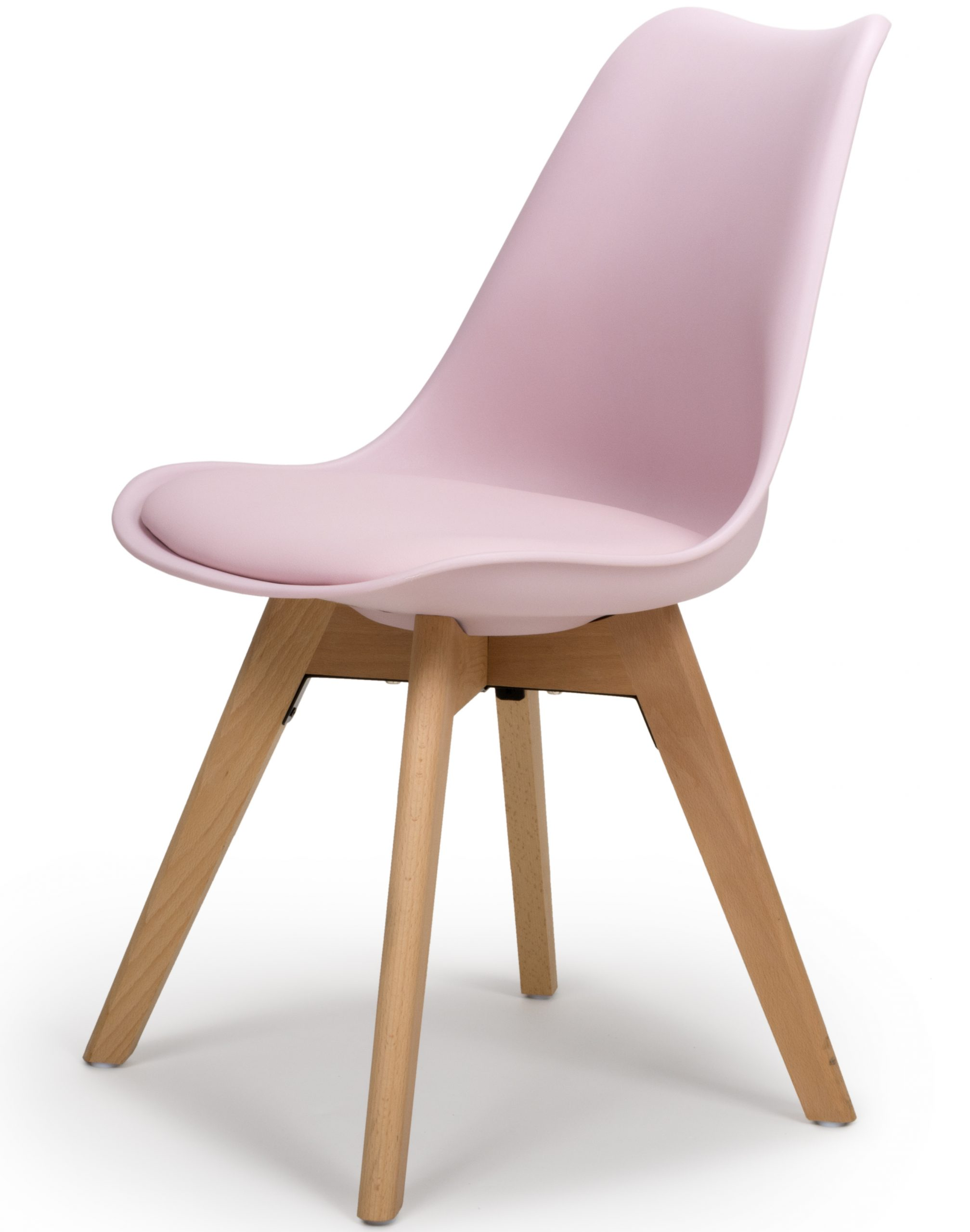 Urban Pink Molded plastic dining chair