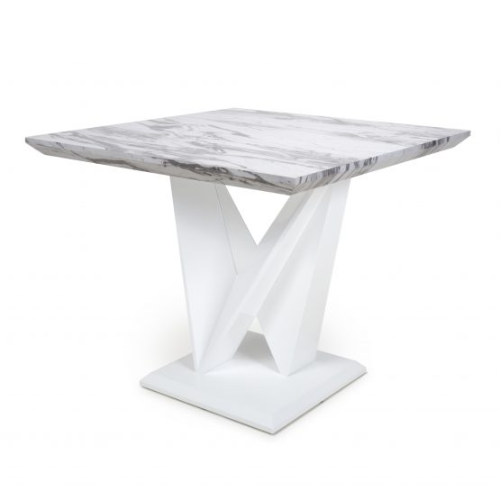 Saturn Square Marble dining Table