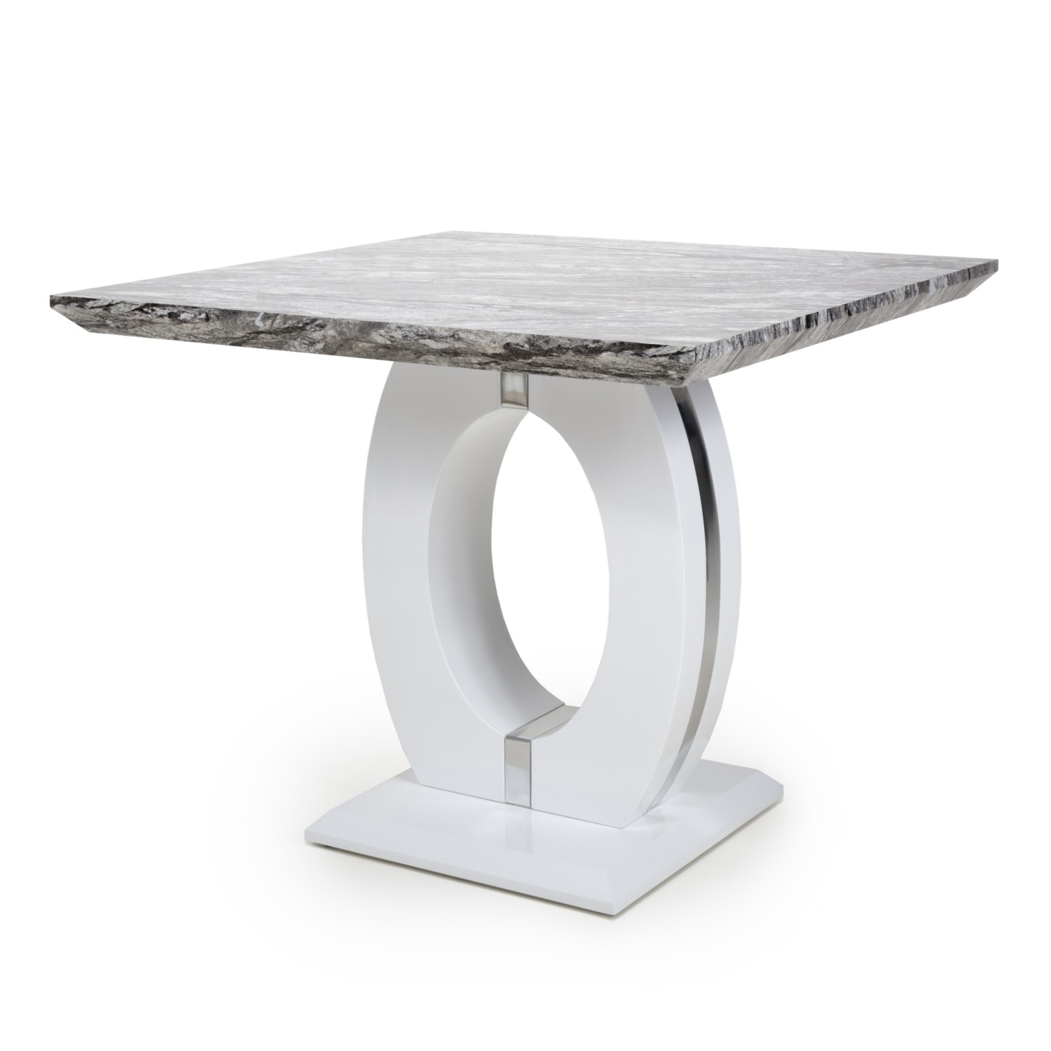 Athena Marble top Square dining table