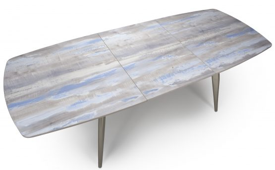 Soho Extending Painted distressed table