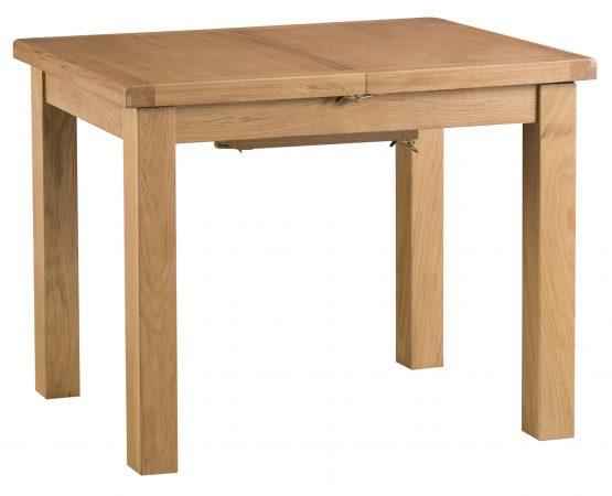 Aspen small extending oak dining table