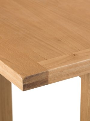 Aspen 1.25 meter Standard Extending Oak Dining Table
