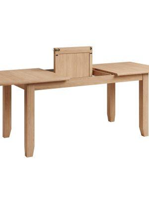 Oslo 1.6 Meter Extending Oak Dining Table