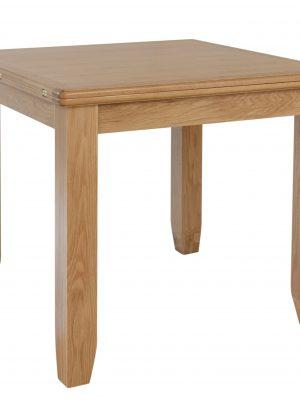 Oslo Flip top Extending Oak Dining Table