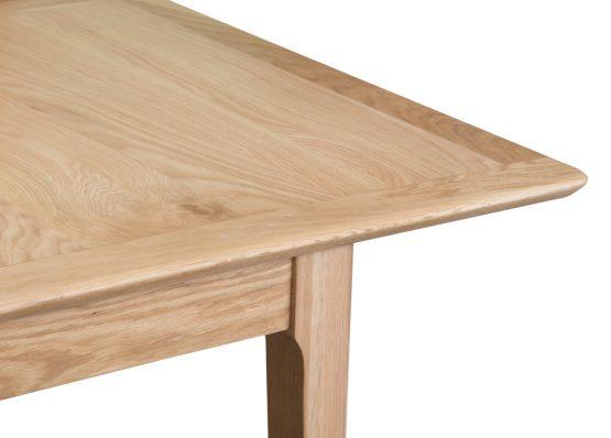 carlisle extending oak dining table