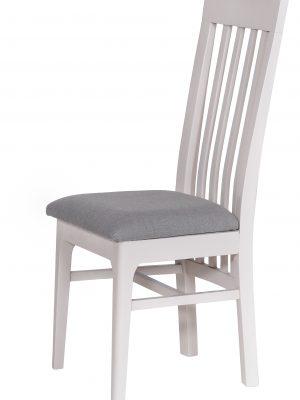 Carlisle Slatted Back Grey Painted Oak Dining Chair