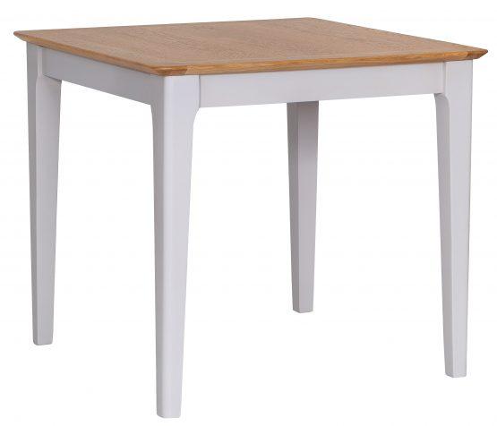 Carlisle Painted Grey Square oak dining table