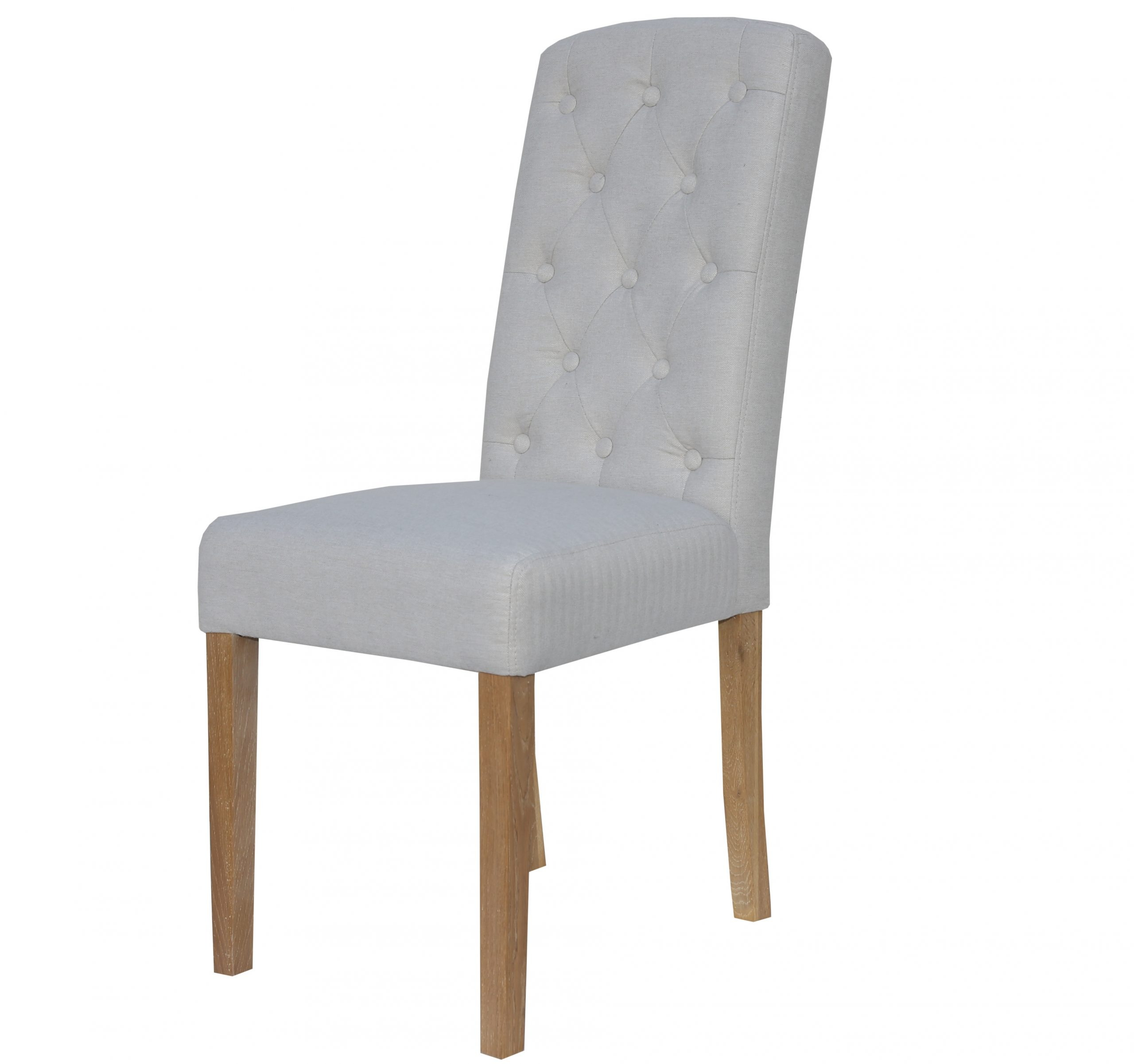 Windsor Cream herringbone dining chair