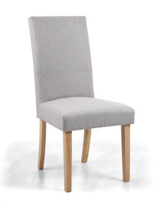 Ripley Cappuccino Herringbone Fabric Dining Chair