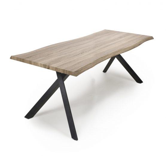 Alaska plank top oak dining table