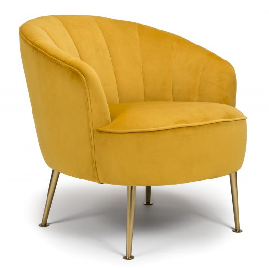 Newport Mustard Yellow Tub Chair
